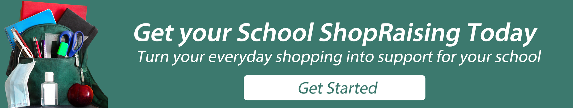 Signup your school for ShopRaise